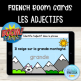 Les adjectifs: Cartes Boom/FRENCH Boom Cards