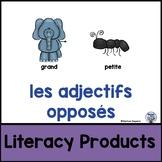 Les adjectifs opposés