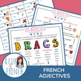 Les adjectifs placés avant le nom - French adjectives plac