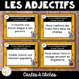 Les adjectifs qualificatifs - Cartes à tâches