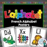 Les affiches d'alphabet:  French Alphabet Posters