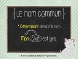 Les affiches de français pour le 1er cycle