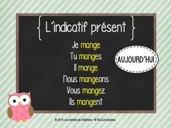 Les affiches de français pour le 2e cycle