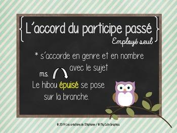 Les affiches de français pour le 3e cycle