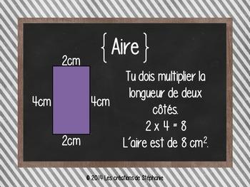Les affiches de mathématiques pour le 2e cycle