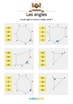 Les angles 4 -Quel est la notation de cet angle ?