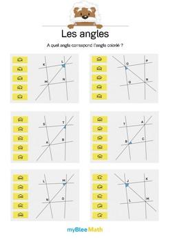 Les angles 5 -Quel est la notation de cet angle ?