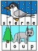 Les animaux - Ensemble de puzzles