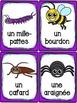 Les animaux - Ensemble des cartes de vocabulaire - French animals - Bundle