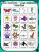 Les animaux - Ensemble mur de mots et lexique - French animals