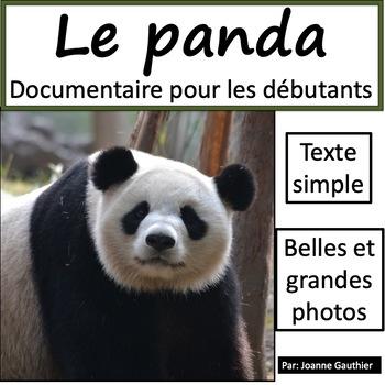 Les animaux: Le panda