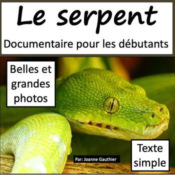 Les animaux: Le serpent