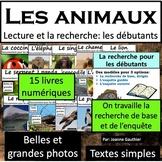Les animaux: Une collection de livres documentaires pour l