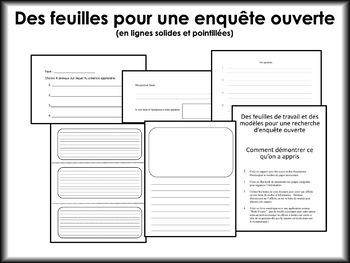 Les animaux: livres documentaires (Animals: French non-fiction reading bundle)