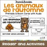 Les animaux de l'automne {Fall French Autumn animals Reade