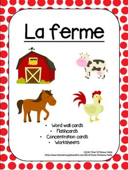 Les animaux de la ferme-Farm Animals
