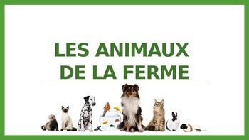 Les animaux de la ferme - Flashcards