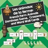 Les animaux de la ferme: French Farm Animals Dominoes, Cro