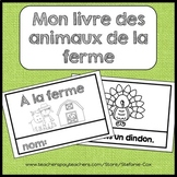 Les animaux de la ferme / French farm animals booklet / French guided reading