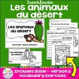 Les animaux du désert ~ French Desert Animals Reader plus BOOM™ Version w/ Audio