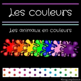 Les animaux en couleurs // French Animals in Color Books