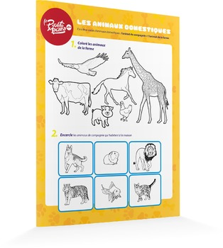 Les animaux domestiques - produit gratuit