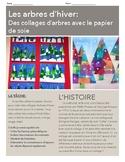 Les arts visuels - Les arbres d'hiver