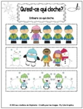 Les ateliers d'hiver pour le préscolaire