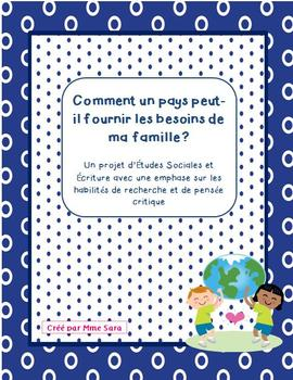 FRENCH - Country Research Project
