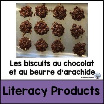 Les biscuits au chocolat et au beurre d'arachide