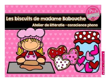 Les biscuits de madame Babouche