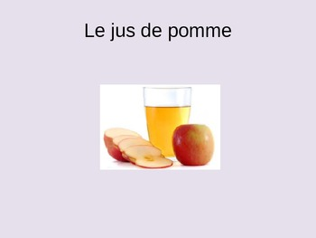 Les boissons Power Point French Beverages Drinks PPT
