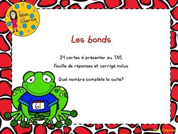 Les bonds - 3e année