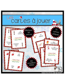 Les cartes à jouer de Noël (Christmas Playing Cards)