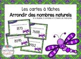 Les cartes à tâches : Arrondir des nombres naturels