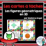 Les cartes à tâches:  French Task Cards - 3D Solids