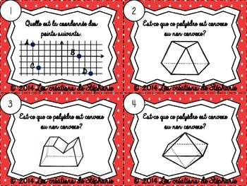 Les cartes à tâches : La géométrie