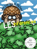 Les cartes à tâches : Les inférences FRENCH GRAMMAR TASK CARDS