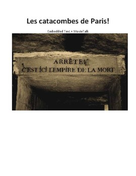 Les catacombes de Paris - Embedded Reading + MovieTalk