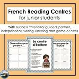 Les centres de lecture / French reading centres