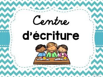 Les centres de littératie - French Literacy Centres