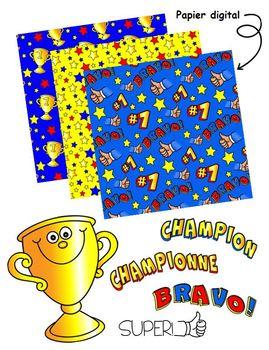 Les champions (cliparts)