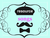 Chansons and videos! 37 upbeat songs + 22 videos with acti
