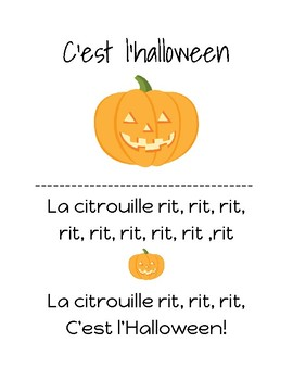 Les chansons de l'automne // Fall songs in French