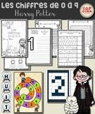 Les chiffres de 0 à 9 - Harry Potter
