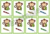 Les chiffres du petit singe