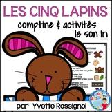 """Centres de littératie - Mots fréquents - Le son """"in"""" - French Phonics"""