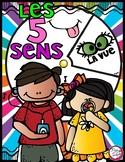 Les cinq sens - FRENCH 5 Senses Spinner