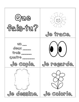 Les consignes - Emergent Reader and Activities