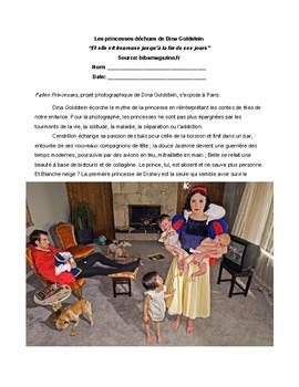 Les contes de fées Les princesses déchues de Dina Goldstein - French Fairy Tales